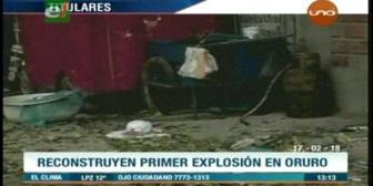 Video titulares de noticias de TV – Bolivia, mediodía del sábado 17 de febrero de 2018