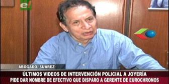 Eurochronos: Piden identificar al policía que disparó al gerente Erick Peña