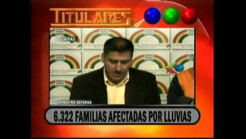 Video titulares de noticias de TV – Bolivia, noche del lunes 5 de febrero de 2018