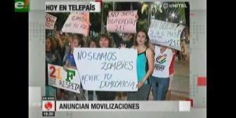 Video titulares de noticias de TV – Bolivia, noche del viernes 9 de febrero de 2018