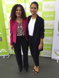 Elizabeth Salguero y Sasha Vázquez (influencer)