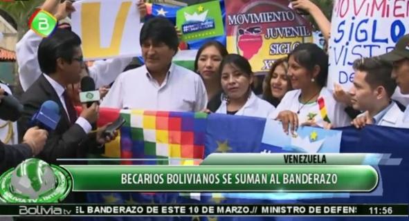 Evo Morales dice que todos los canales deben transmitir
