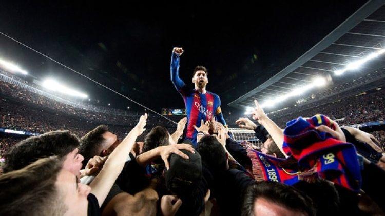"(Santi Garcés / FC Barcelona) La foto del ""partido de Neymar"""