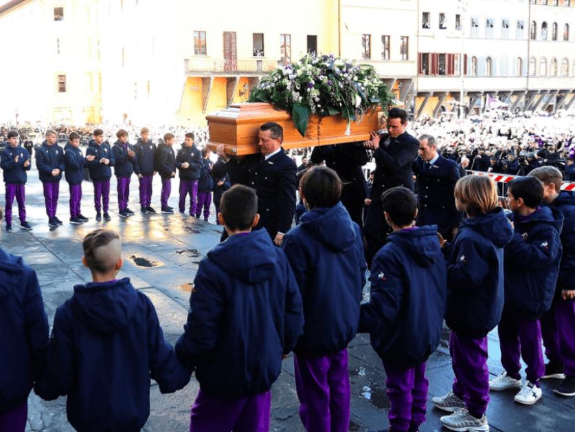Ciao, capitano: emotivo adiós a Davide Astori