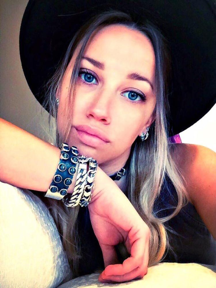 """Lara tiene 25 años y tendrá un hijo con el """"Pipita"""": el rumor comenzó a correr en diciembre del 2017 (Facebook: Lara Wechsler)"""