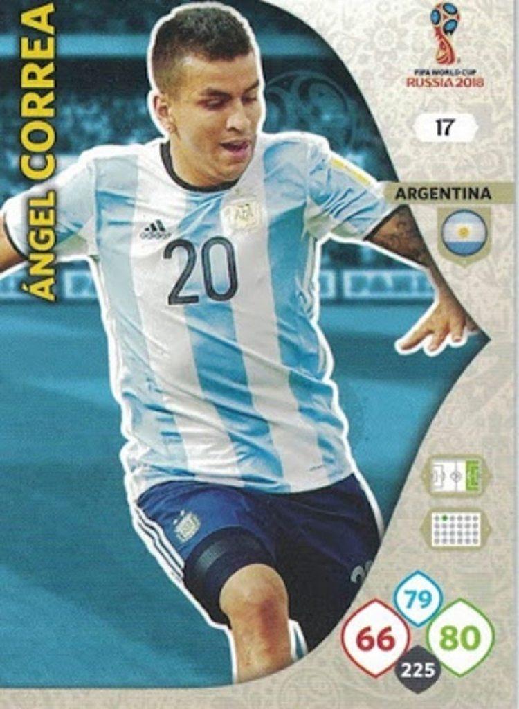 La versión Adrenalyn de Ángel Correa (Yo soy mundial)