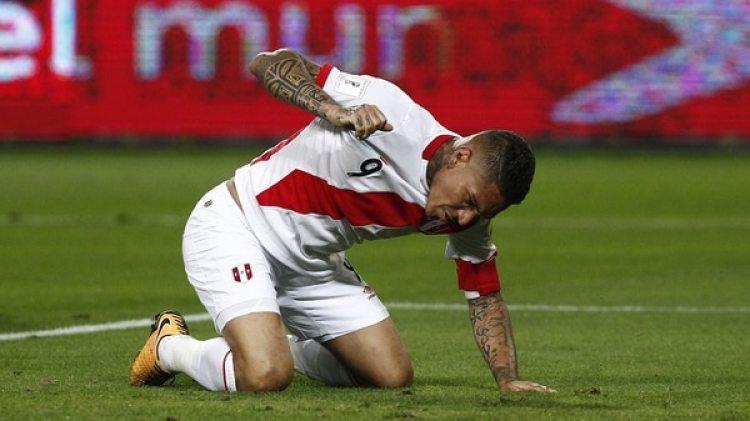 Paolo Guerrerosigue suspendido por la FIFA hasta el próximo 3 de mayo(Getty Images)