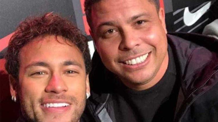 Image result for Ronaldo Nazario and Neymar