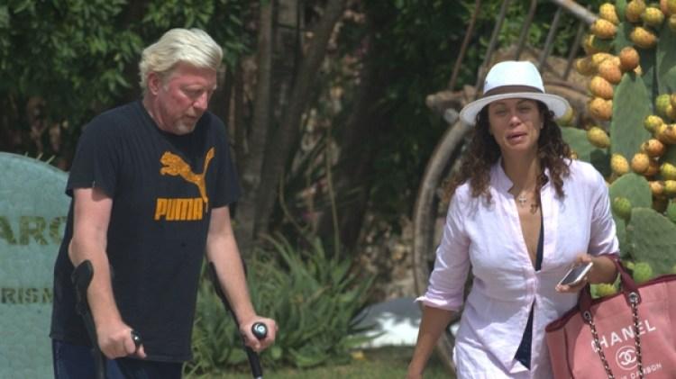 Boris Bocker y su mujer Lilly llevan nueve años de matrimonio (Grosby Group)