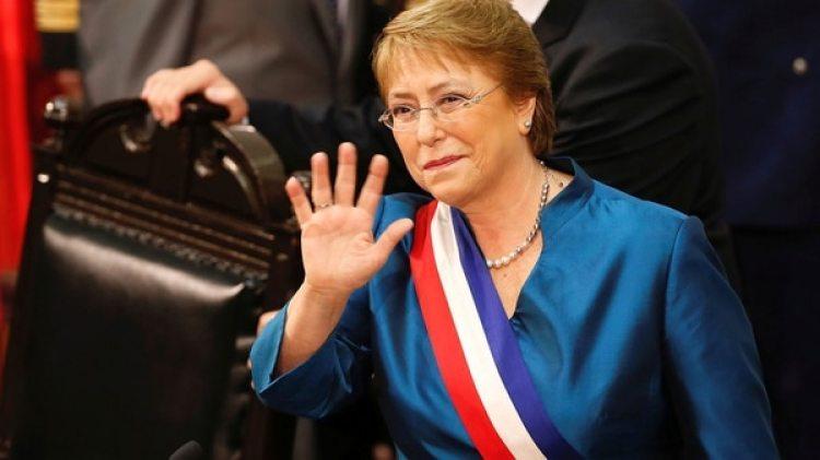 Michelle Bachelet se despidió de la presidencia de Chile (Reuters)