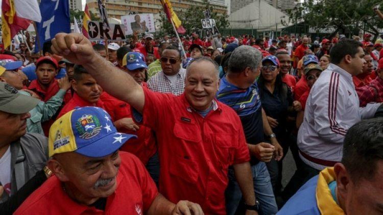 Diosdado Cabello pidió a la militancia colaborar económicamente (EFE)