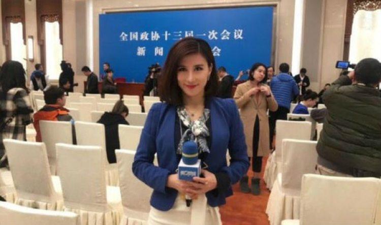 La reportera Liang Xiangyi