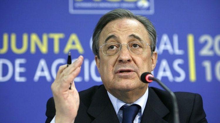Florentino Pérez, director de ACS