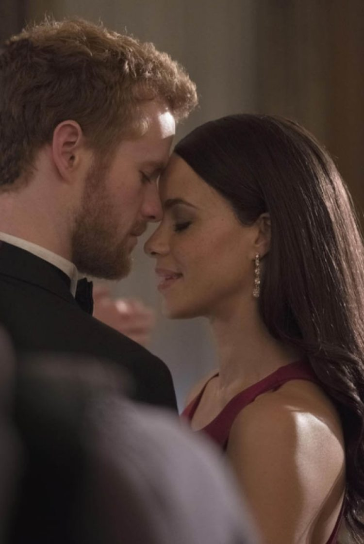 El actor Murray Fraser y la actriz Parisa Fitz-Henley imterpretarán al príncipe Harry y Meghan Markle en la película biográfica del canal Lifetime