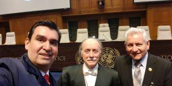 José  María Leyes dice que se acreditó directamente ante la CIJ