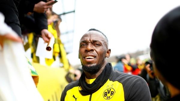 Arrancó la carrera futbolística de Usain Bolt