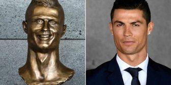 El dolor detrás de los memes: el creador del busto de Cristiano Ronaldo contó cómo cambió su vida tras su fallida obra