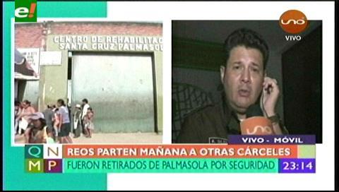 Reos no tienen entrada a ningún sitio en Palmasola