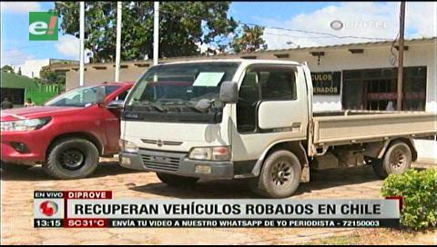 Diprove recupera vehículos robados en Chile