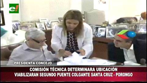 Santa Cruz y Porongo acuerdan foros y mesas de trabajo