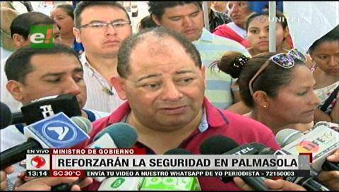 "Ministro Romero: ""Hay un poder fáctico que administra Palmasola"""