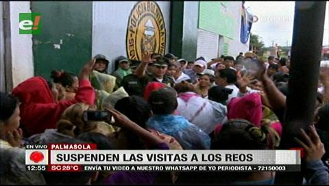 Suspenden visitas al penal de Palmasola por una supuesta reestructuración