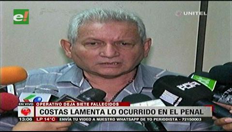 Costas dice que la Gobernación cumplió al entregar hectáreas para nuevo penal