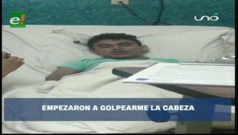 Jóvenes golpearon a su compañero hasta dejarlo en coma