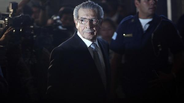 Muere el exdictador guatemalteco Efraín Ríos Montt, acusado de genocidio