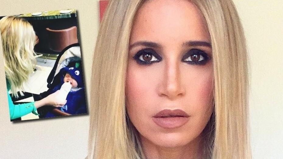 Por una mamadera, a Flor Peña la destrozaron en las redes sociales