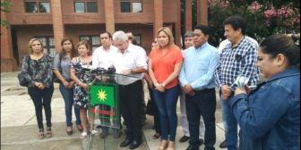 """Costas llama a Cochabamba a defender a Leyes frente a la """"conspiración"""" del Gobierno que busca tumbarlo"""
