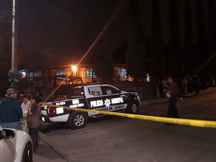 Autoridades en Cuautitlán Izcalli, donde fue asesinado el sacerdote