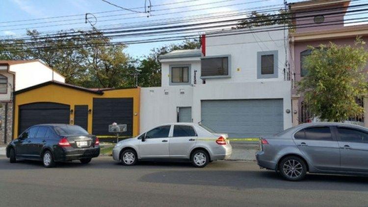 La casa del ex juez Gamboa que fue allanada este miércoles (Nacion)
