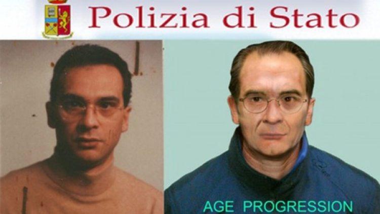 Como era y como podría ser hoy Matteo Messina Denaro, en una elaboración de la policía italiana