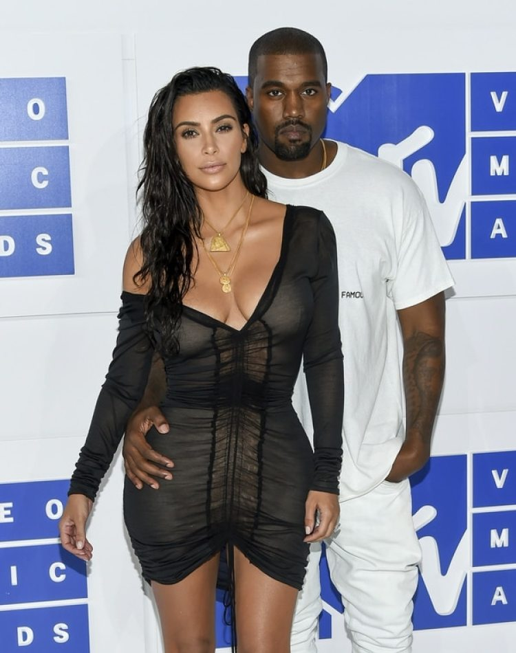 Kim Kardashian West y Kanye West. (Photo by Evan Agostini/Invision/AP, File)