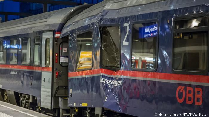 Österreich Zugunglück in Salzburg (picture-alliance/FMT/APA/W. Moser)