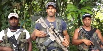 """La Fiscalía colombiana aseguró que el grupo disidente de las Farc liderado por """"Guacho"""" es el brazo armado del Cartel de Sinaloa"""