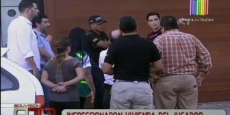 Investigado por violencia familiar: Inspeccionan vivienda del futbolista Leonardo Vaca