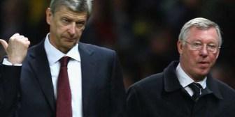 """Ferguson dice que se siente """"orgulloso"""" de su """"amigo y rival"""" Arsene Wenger"""