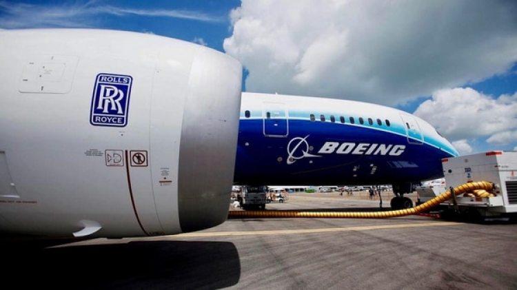 Los motores Trent 1000 equipan a un cuarto de las aeronaves Boeing 787 Dreamliner hoy en funcionamiento