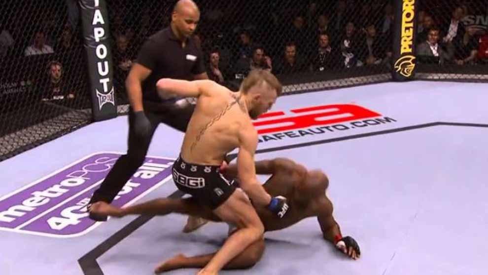 No tuvo piedad: el brutal KO de Conor McGregor en su debut en la UFC para ganar 60.000 dólares