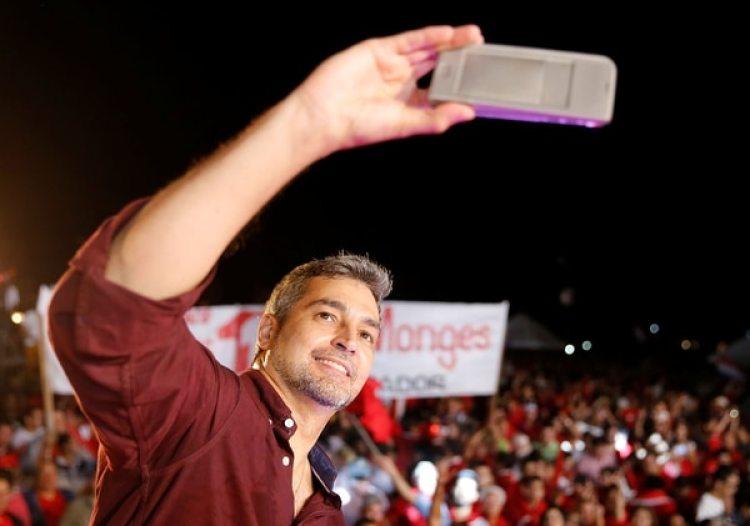 Mario Abdo Benítez. (REUTERS/Andres Stapff)