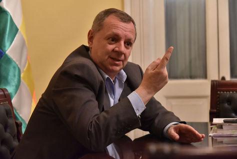 El presidente del Senado, José Alberto Gonzales. Foto: Álvaro Valero