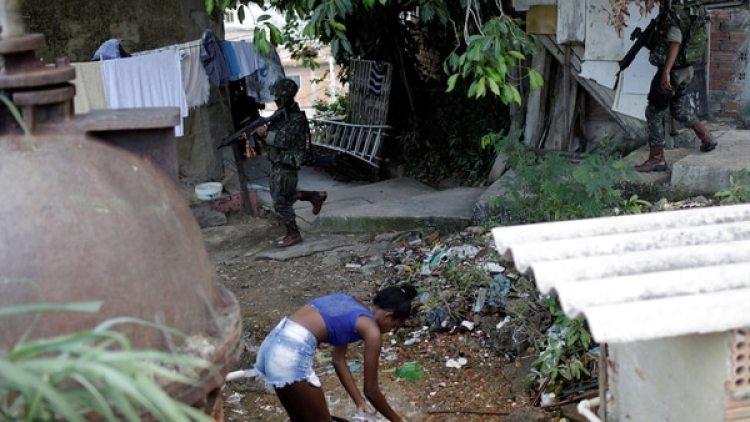 En 2017 se registraron otras violaciones colectivas a menores en Brasil, varias de ellas en zonas empobrecidas de Río de Janeiro