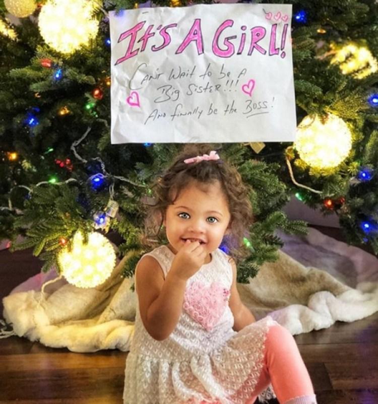 Jasmine Lia tiene 2 años de edad y es la hija mayor de Dwayne Johnson y Lauren Hashian (Instagram: La Roca)