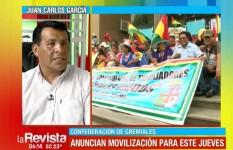 """Gremiales afirman que se movilizarán contra la """"indiferencia"""" de autoridades"""
