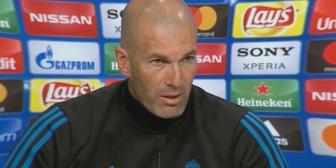 """Zidane: """"Para nosotros no existe cag… en los pantalones"""""""