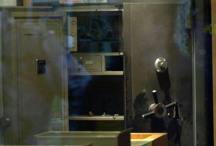 FOTO DE REFERENCIA - CAJA FUERTE VIOLENTADA.