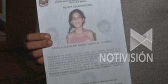 Desaparece niña de 14 años con discapacidad mental que salió a comprar dulces