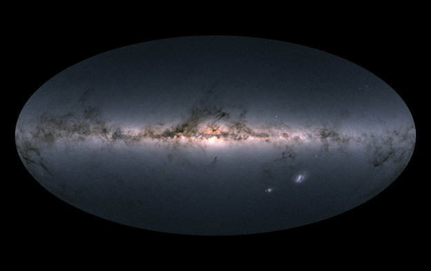 Publican mapa tridimensional del 1% de la Vía Láctea